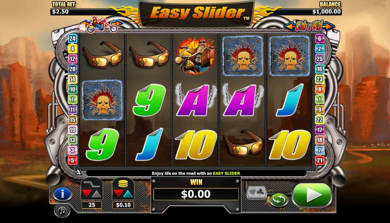 Easy Slider game