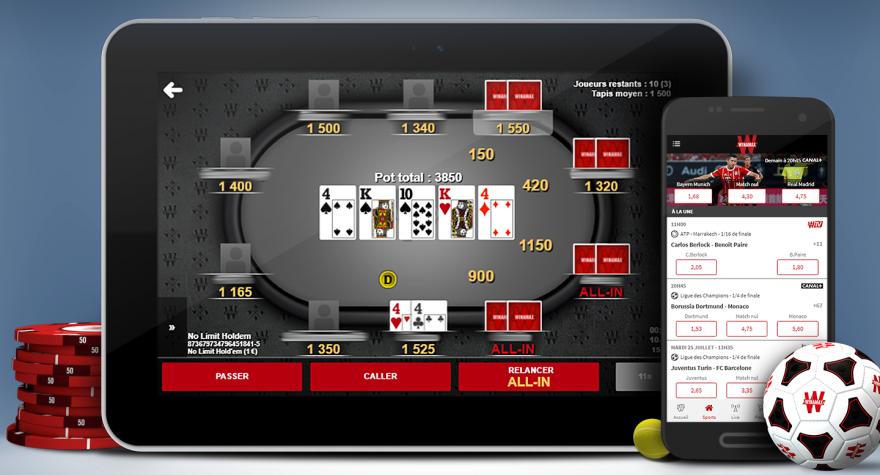 Winamax mobile poker